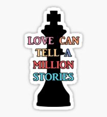 Chess Piece & Love | Falsettos Sticker