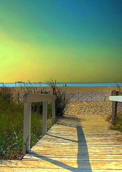 HDR Beach by AnneRN