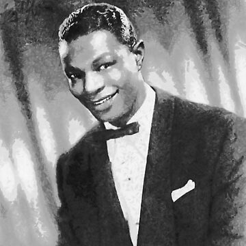 Nat King Cole (Nathaniel Adams Coles) March 17 1919 - February 15, 1965 by ZipaC