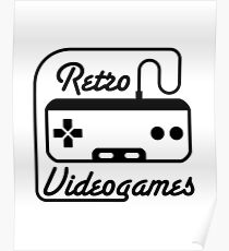 retro videogames Poster