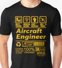 AIRCRAFT ENGINEER LATEST DESIGN|FIND MORE HERE: https://goo.gl/9jnkq4 T-Shirt