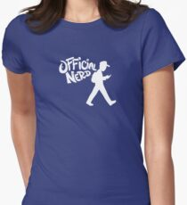 Official Nerd Womens Fitted T-Shirt