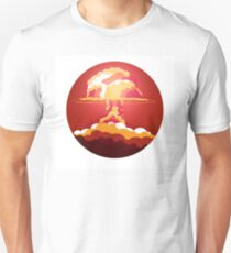 Nuclear Explosion. Say no to war T-Shirt