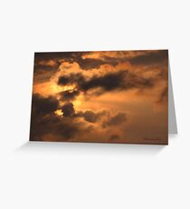 Ancient Dragon in the Sky ~ Clouds Greeting Card