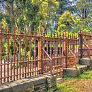 Gateway to the Eltham Cemetery by sjphotocomau