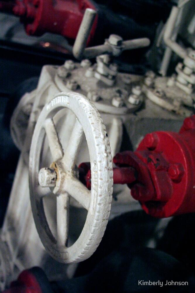 Ship's Engine  by Kimberly Johnson