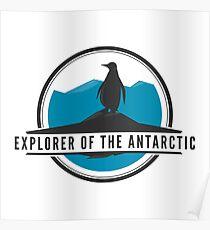 Explorer of the Antarctic Poster