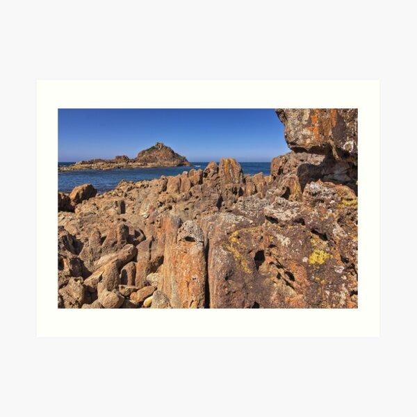 0004 Mimosa Rocks 2 -  National Park NSW Art Print