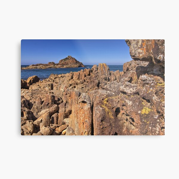 0004 Mimosa Rocks 2 -  National Park NSW Metal Print