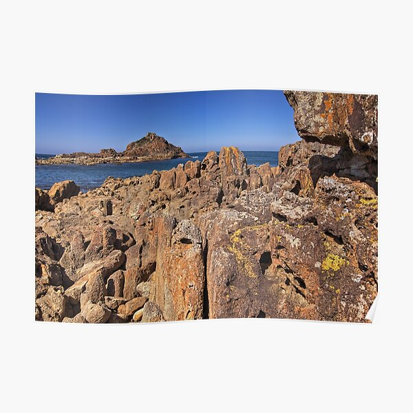0004 Mimosa Rocks 2 -  National Park NSW Poster