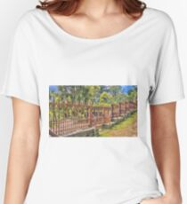 Gateway to the Eltham Cemetery Women's Relaxed Fit T-Shirt