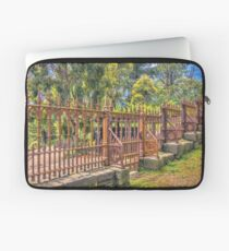 Gateway to the Eltham Cemetery Laptop Sleeve