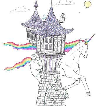 Unicorn Tower by astranaut