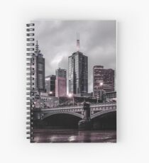 Gotham by the Yarra Spiral Notebook
