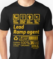 LEAD RAMP AGENT LATEST DESIGN|FIND MORE HERE: https://goo.gl/IhO9dH Unisex T-Shirt