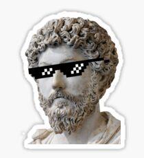 Marcus Aurelius - Deal with it Sticker