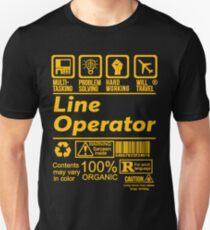LINE OPERATOR SOLVE PROBLEMS DESIGN Unisex T-Shirt