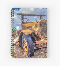 Dodge on the Rocks Spiral Notebook