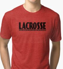 lacrosse Tri-blend T-Shirt