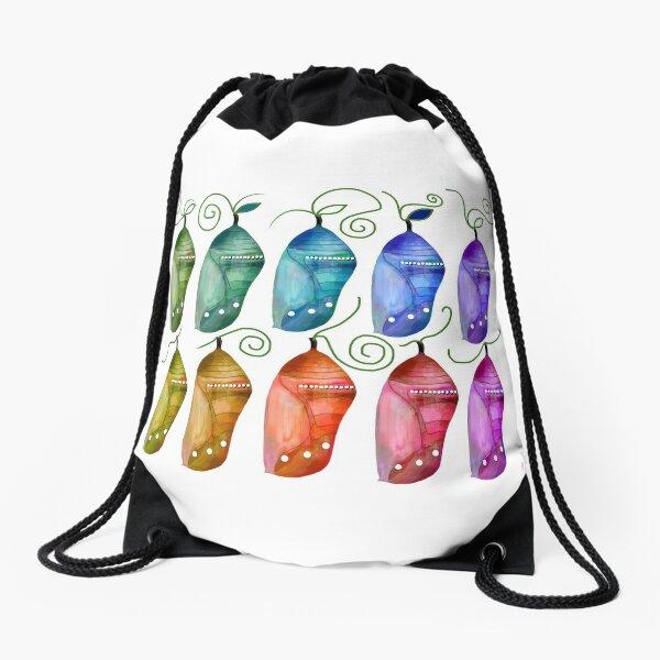 Chrysalis Kaleidoscope Drawstring Bag