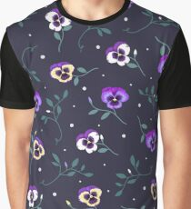 Midnight Floral Graphic T-Shirt
