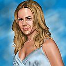 Julie Benz by stevencraigart