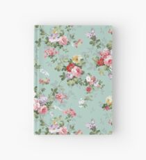 Elegantes rosa Blumenmuster der schönen Rosen Notizbuch