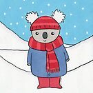 Christmas Koala  by zoel