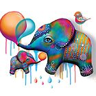 Party Elephants by Karin Taylor