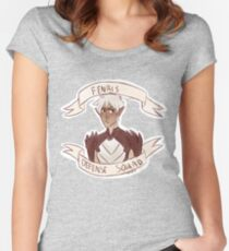 Dragon Age 2 - FENRIS DEFENSE SQUAD Women's Fitted Scoop T-Shirt