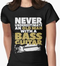 Old Man With A Bass Guitar T-Shirt