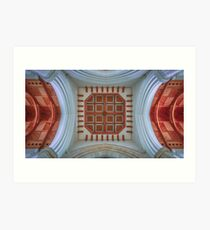 The Cathedral Ceiling Art Print