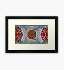 The Cathedral Ceiling Framed Print