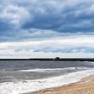 Stormy Seascape - Lyme Regis by Susie Peek