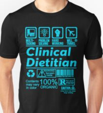 7e39c260 CLINICAL DIETITIAN SOLVE PROBLEMS DESIGN Slim Fit T-Shirt