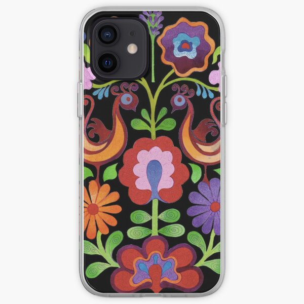 Ukrainian folk Flowers iPhone Soft Case