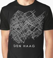 Den Haag (The Hague) Street Map Graphic T-Shirt