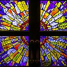 Square Stained Glass Door Windows by sjphotocomau