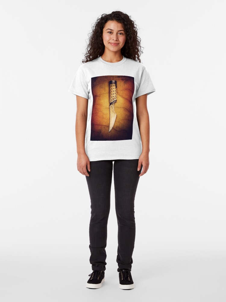 """Alternate view of The Slow Blade (Inspired by David Lynch's """"Dune"""") Classic T-Shirt"""