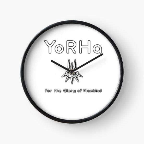 NieR: YoRHa Automata (white) Clock