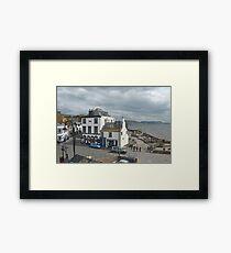 Everyday Life........Lyme Dorset UK Framed Print