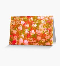 Cloth Painting Greeting Card