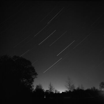 Leo (and Saturn) Star Trail by davepearson