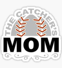 Catchers Mom Sticker