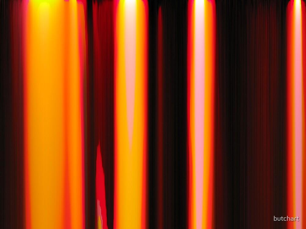 pillars of fire by butchart
