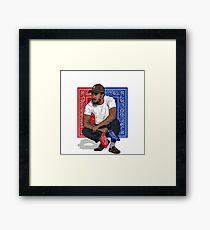 Kendrick lamar is my crush Framed Print