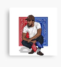 Kendrick lamar is my crush Canvas Print