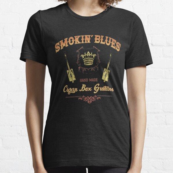 Smokin' Blues - Cigar Box Guitars Essential T-Shirt