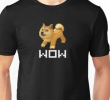 Pixel Doge Wow Unisex T-Shirt