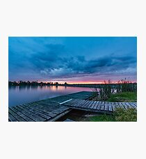 Walka Water Works Lake Photographic Print
